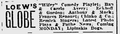 1915 LoewsGlobe theatre BostonEveningTranscript Nov20.png