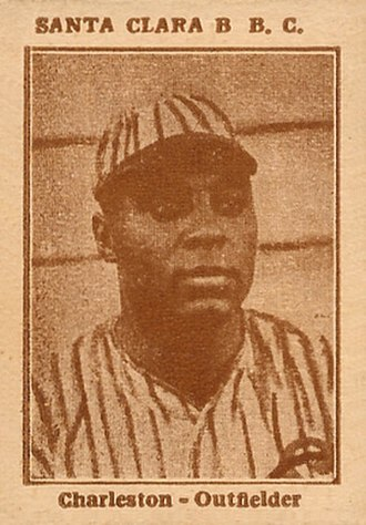 Oscar Charleston - Image: 1923 Tomas Gutierrez Oscar Charleston