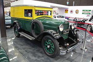 Dover (truck) - 1929 Dover commercial van