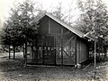 1937. Insectary set up by Robert L. Furniss at the Pack Forest, west of Mt. Rainier. La Grande, Washington. (34605609350).jpg