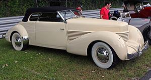 Cord 810/812 - 1937 812 Phaeton
