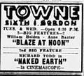1958 - Towne Theater Ad - 2 Dec MC - Allentown PA.jpg