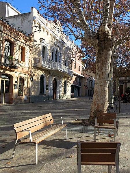 File 195 ajuntament antic pl barcelona sant cugat del - Placa barcelona sant cugat ...