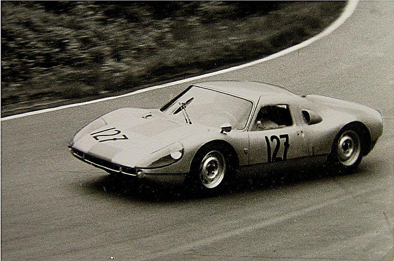 Image:1964-05 Training Porsche 904 8-Zyl. wahrscheinl. E. Barth.jpg