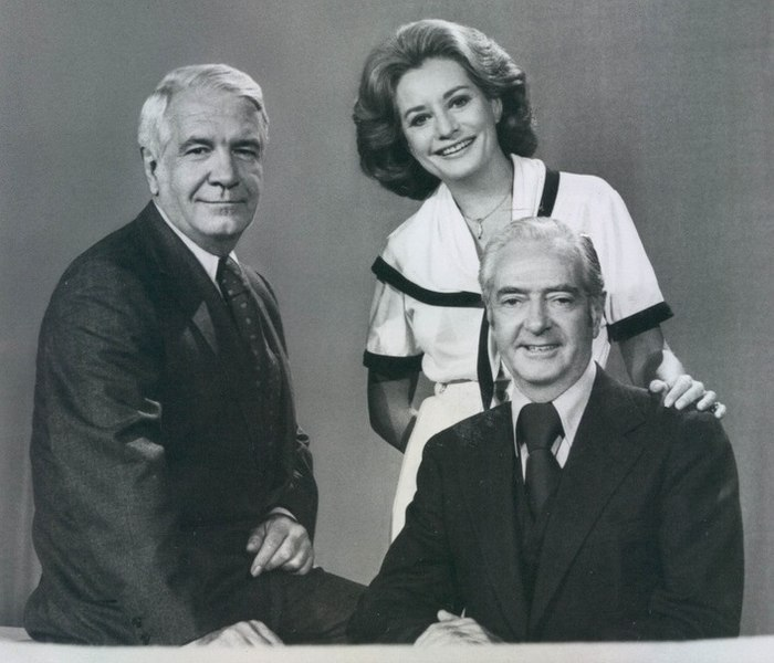 File:1976 ABC News Anchors Harry Reasoner, Barbara Walters, Howard K. Smith - Press Photo for the 1976 Presidental, Congressional and Gubernational elections (cropped1).jpg