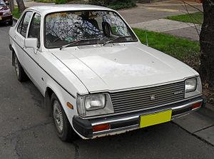 Isuzu Gemini - 1979 facelift Holden Gemini (Holden built and badged version for the Australian market)