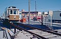 1983 SF Historic Trolley Festival - Porto 189 over inspection pit at Duboce Yard.jpg