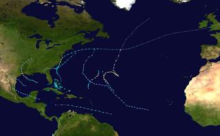 1986 Atlantic hurricane season Hurricane season in the Atlantic Ocean