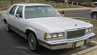1988-1991 Mercury Grand Marquis