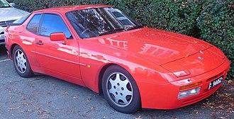 Porsche 944 - 1989-1991 944 S2 coupe (Australia)