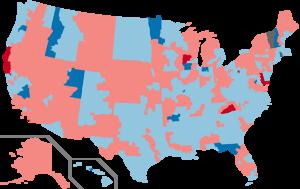 United States House of Representatives elections, 1990 - Image: 1990 House Elections in the United States