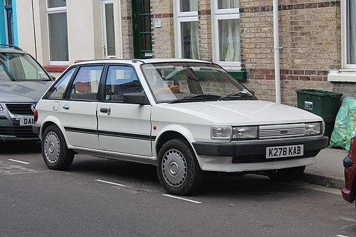 1992 Austin Maestro 2.0 turbo diesel Clubman (Rover Maestro), 6-9-2013 (9688726726)