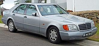 Mercedes-Benz W140 - 1991–1993 Mercedes-Benz 300 SE (W140)