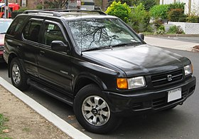 Honda Passport  Wikipedia
