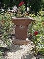 1 Rákóczi Road, rose garden, drinking fountain, 2020 Sárospatak.jpg