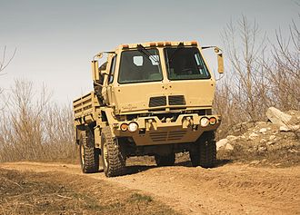 Family of Medium Tactical Vehicles - Image: 2) Oshkosh produced M1087 A1P2 2.5 ton LTV in A kit confoguration