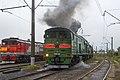 2ТЭ10М-3005, Россия, Архангельская область, станция Коноша-II (Trainpix 204916).jpg
