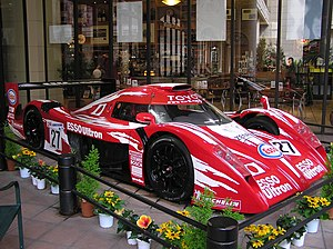 Toyota in motorsport - The Toyota GT-One was raced in the 1998 and 1999 24 Hours of Le Mans. Ex-Formula One drivers: Thierry Boutsen, Martin Brundle and Ukyo Katayama drove the GT-One in both events.