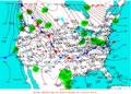 2004-01-24 Surface Weather Map NOAA.png