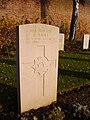 2005-12-09 Headstone of Frank Short, Faubourg d'Amiens Cemetery, Arras.JPG