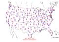 2006-06-02 Max-min Temperature Map NOAA.png