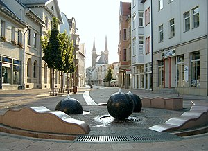 Köthen (Anhalt) - Boulevard