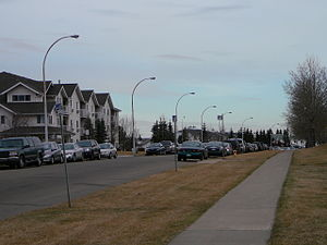 Tawa, Edmonton - Youville Drive is a main thoroughfare in Tawa