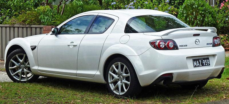 2008 Mazda RX-8 40th Anniversary - Coupe 1.3L Manual
