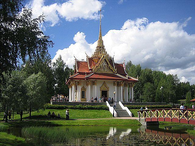 Thailändischer Pavillon Utanede