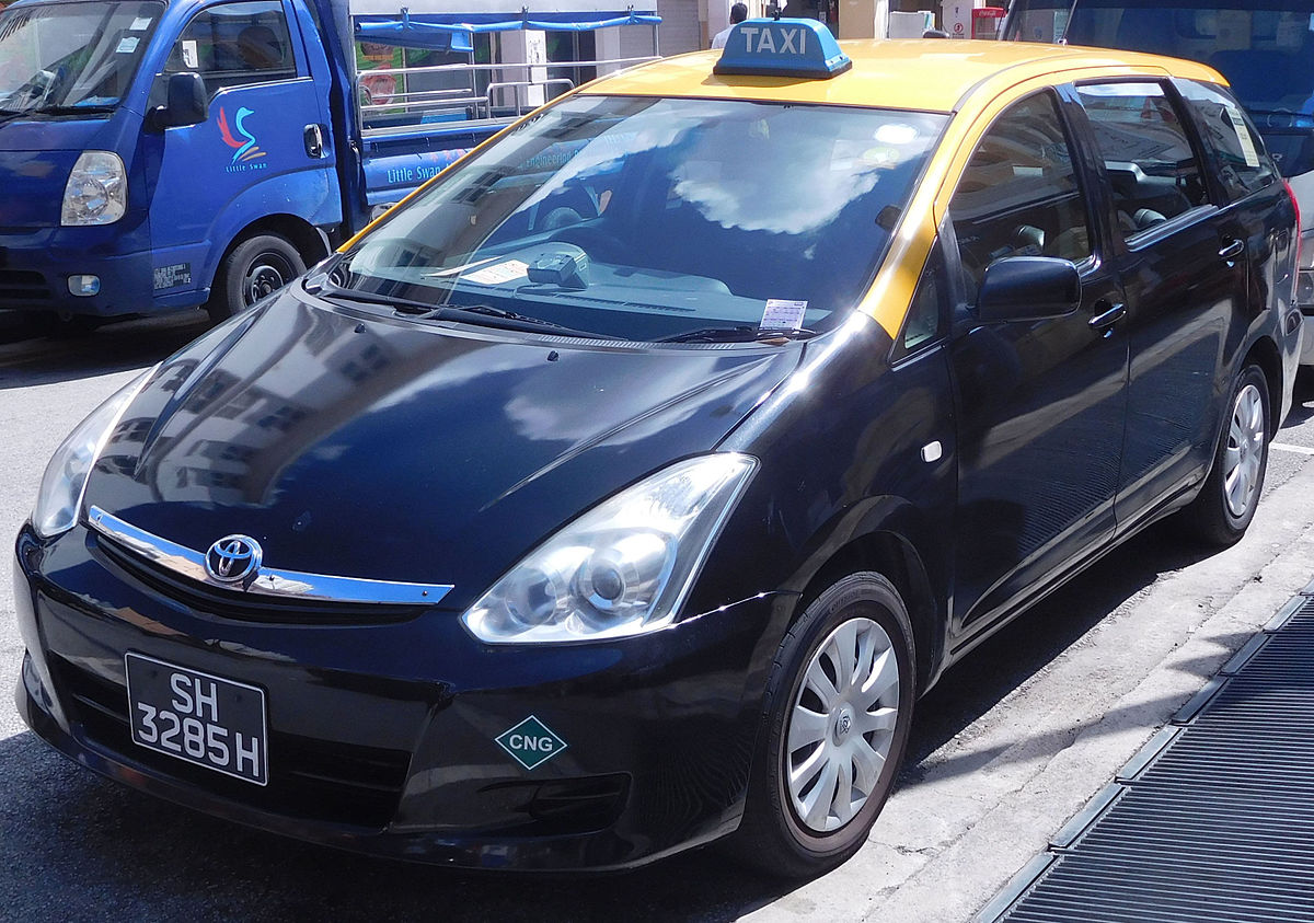 Px Toyota Wish Zne Yellow Top Taxis on 2008 Hyundia Elantra