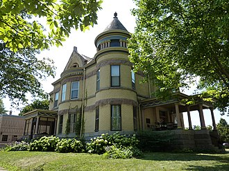 National Register of Historic Places listings in Blue Earth County, Minnesota - Image: 2009 0805 MN Mankato Cray House