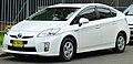 2009 Toyota Prius (ZVW30R) liftback (2011-12-06) 01.jpg