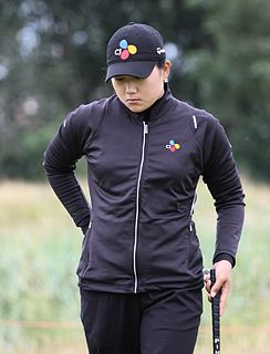 Lee Seon-hwa professional golfer