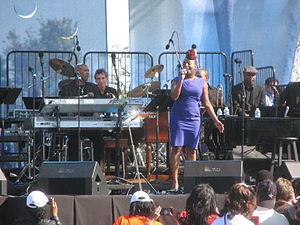 Ledisi - Ledisi performing at the October 16, 2011 Martin Luther King, Jr. Memorial dedication concert