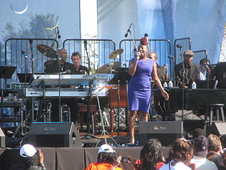 Ledisi - Ledisi performing at the October 16, 2011 Martin Luther King, Jr. Memorial dedication concert