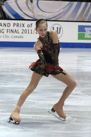 Yulia Lipnitskaya - Lipnitskaya at the 2011–12 Junior Grand Prix Final