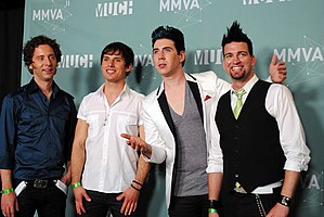 2011 MuchMusic Video Awards - Marianas Trench.jpg