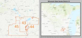 Wisconsins 15th State Senate district