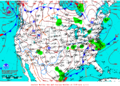 2012-02-05 Surface Weather Map NOAA.png