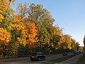 2012-10-03 Гатчина. Липовый сад со стороны Красноармейского проспекта (1).jpg