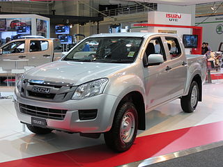 Isuzu D-Max Pickup truck manufactured by Isuzu Motors