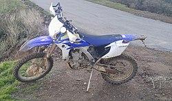 Yamaha WR450F - Wikipedia