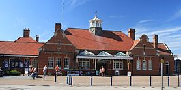 2012 at Felixstowe station - forecourt.jpg