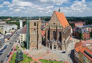 Basilica of St. James and St. Agnes, Nysa - Image: 2014 Nysa, zespół kościoła św. Jakuba Starszego i św. Agnieszki