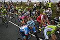 2014 Tour de France stage 2, near Littleborough (peloton)(5).JPG