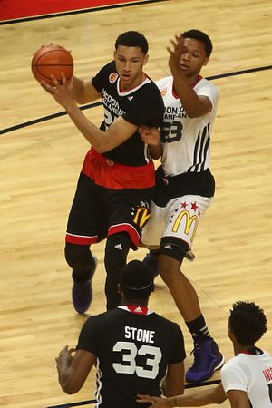 Ben Simmons - Simmons in the 2015 McDonald's All-American Game