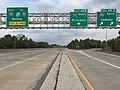 2017-10-06 16 56 22 View south along New Jersey State Route 29 (Central Jersey Expressway) at Exit 60A (Interstate 295 SOUTH, Camden) in Hamilton Township, Mercer County, New Jersey.jpg