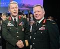 2017 Halifax International Security Forum (26715198669) (cropped) Jonathan Vance and Hulusi Akar.jpg