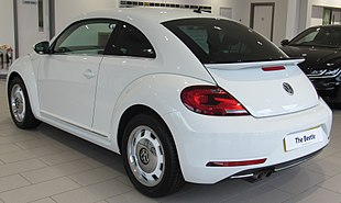 2017 Volkswagen Beetle Design TSi 1.4 Rear.jpg