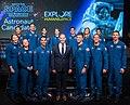 2017 class of NASA astronauts with Jim Bridenstine.jpg